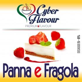 Cyber Flavour - PANNA E FRAGOLA aroma 10ml