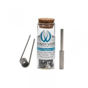 Vandy Vape FUSED CLAPTON COIL 26ga(A1)*2+36ga(Ni80) 0.43ohm 10pcs