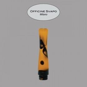 Officine Svapo DRIP TIP POSEIDONE METACRILATO nero/ambra maculato