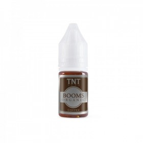 TNT Vape - 100% Organic Tobacco - BOOMS ORGANIC COFFEE aroma 10ml