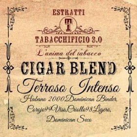 Tabacchificio 3.0 Cigar Blend - TERROSO INTENSO aroma 20ml
