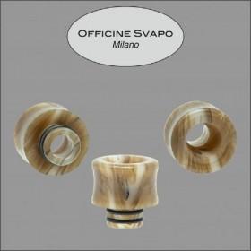 Officine Svapo DRIP TIP FLAVOR Metacrilato - Effetto corno scuro