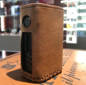 Vapecige - Vtbox DNA250C COVER IN CUOIO by Cover per Svapatori - INVECCHIATO