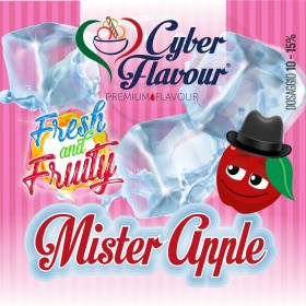 - Cyber Flavour Fresh & Fruity - MISTER APPLE aroma 10ml