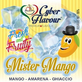 - Cyber Flavour Fresh & Fruity - MISTER MANGO aroma 10ml