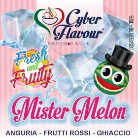 - Cyber Flavour Fresh & Fruity - MISTER MELON aroma 10ml
