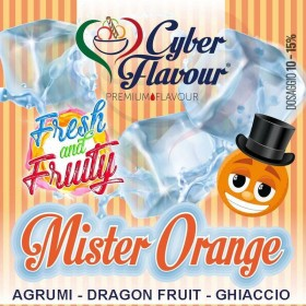 - Cyber Flavour Fresh & Fruity - MISTER ORANGE aroma 10ml