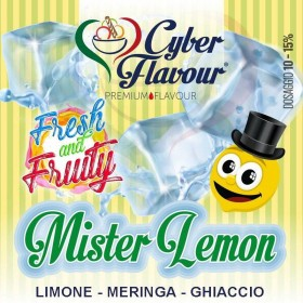 - Cyber Flavour Fresh & Fruity - MISTER LEMON aroma 10ml