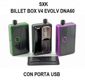 SXK - BILLET BOX V4 Evolv DNA60 con porta USB