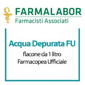 - Farmalabor - ACQUA ALTAMENTE DEPURATA 1 litro FU