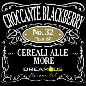 DreaMods - No. 32 CROCCANTE BLACKBERRY aroma 10ml