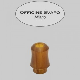 Officine Svapo Collection DRIP TIP HORSE A VITE Metacrilato - Ambra