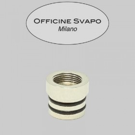 - Officine Svapo Collection BASE METALLICA per Drip tip Collection a vite