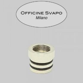 Officine Svapo Collection BASE METALLICA per Drip tip Collection a vite