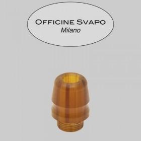 Officine Svapo Collection DRIP TIP ROOK A VITE Metacrilato - Ambra