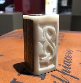 - VP Mod by Vincenzo Paiano - 55 - tubo con mosfet in legno e delrin chiaro