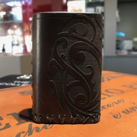 Billet Box COVER IN CUOIO by Cover per Svapatori - MAORI MARRONE