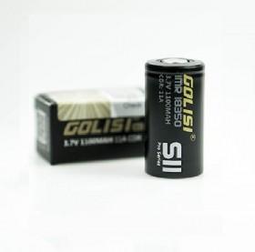 18350 - GOLISI S11 IMR 1100mAh 11A PROTECTED - Flat top