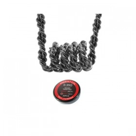 FumyTech prebuilt coil QUAD TWISTED KA1 0.35ohm ID 3mm 20pcs