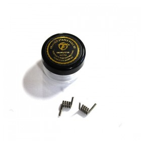 FumyTech prebuilt coil FRAMED STAPLE FULL SS 0.22ohm ID 4.4mm 2pcs