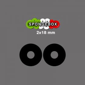 SpongeBox - ANELLO SALVA BOX - 18mm 2 PEZZI