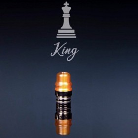 Officine Svapo Collection DRIP TIP KING A VITE Metacrilato - Ambra
