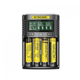 Nitecore UM4 Caricabatterie