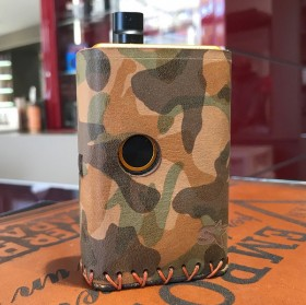 Billet Box COVER IN CUOIO by Cover per Svapatori - CAMO