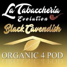 La Tabaccheria Organic 4POD Single Leaf - BLACK CAVENDISH aroma 10ml