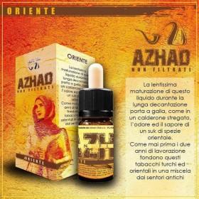 Azhad's Elixirs Non Filtrati - ORIENTE aroma 10ml