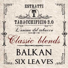 Tabacchificio 3.0 Classic Blends - BALKAN SIX LEAVES aroma 20ml