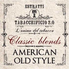 Tabacchificio 3.0 Classic Blends - AMERICAN OLD STYLE aroma 20ml