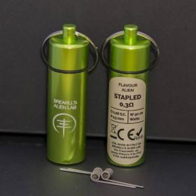 Breakill's Alien Lab - Flavour Alien FS0,3 - STAPLED 0.3ohm ID 2.5mm 50-70W - 2 PEZZI