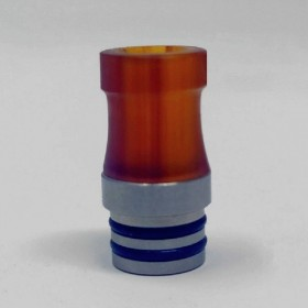 Officine Svapo Collection DRIP TIP LATHOS A VITE Metacrilato - Ambra