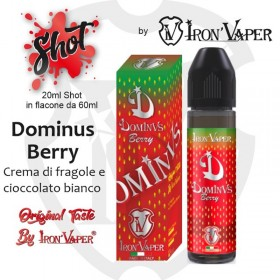 SHOT SERIES - Iron Vaper - DOMINUS BERRY - aroma 20ml