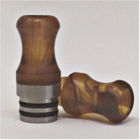 Officine Svapo Collection DRIP TIP CALIPSO A VITE Metacrilato - Ambra