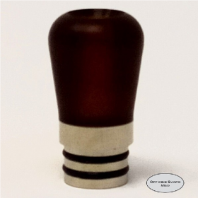 Officine Svapo Collection DRIP TIP BILIA A VITE Metacrilato - Ambra