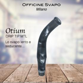 Officine Svapo Collection DRIP TIP OTIUM A VITE Metacrilato - Grigio chiaro madreperla