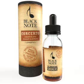 MINI SHOT - Vaporificio - Black Note - CONCERTO - CIGAR BLEND - aroma 10ml
