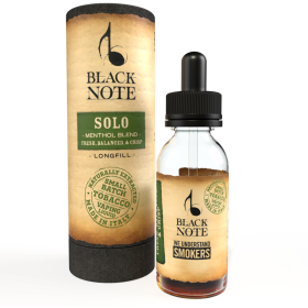 MINI SHOT - Vaporificio - Black Note - SOLO - MENTHOL BLEND - aroma 10ml