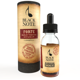 MINI SHOT - Vaporificio - Black Note - FORTE - BURLEY BLEND - aroma 10ml