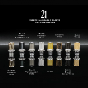 The Vaping Gentlemen Club - Millennium RTA DRIP TIP 21 COMPLETO