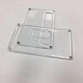 SXK - Billet Box V4 - SPORTELLINI in ACRILICO Transparent