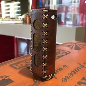 Voopoo - Drag s Pod Mod COVER IN CUOIO by Cover per Svapatori - OLD BROWN