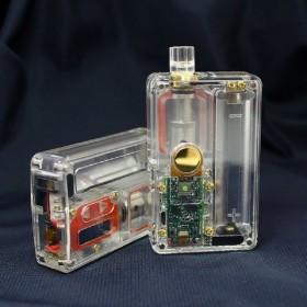 SXK - BILLET BOX V4 70W con porta USB - Transparent Gold