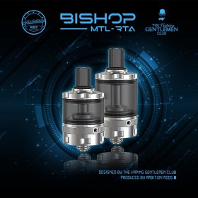 Ambition Mods - Design by The Vaping Gentlemen Club - BISHOP MTL RTA - 4ml