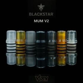 Blackstar - Drip tip MUM V2 - Ultem Raw