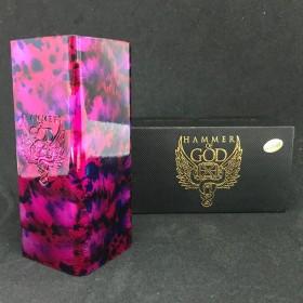 Vaperz Cloud - HAMMER OF GOD CLASSIC XL SPECIAL EDITION 21700 - Purple dye