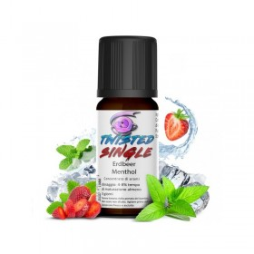 Twisted - ERDBEER MENTHOL aroma 10ml