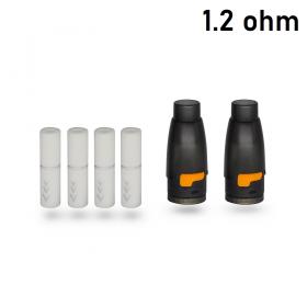 HotCig kubi/kubi 2 Pod Starter Kit 550mAh POD CON FILTRO 1.2ohm - 2 PEZZI